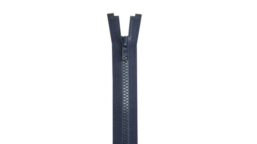 YKK Reissverschluss teilbar mit Kunststoffzahnkette 55 cm