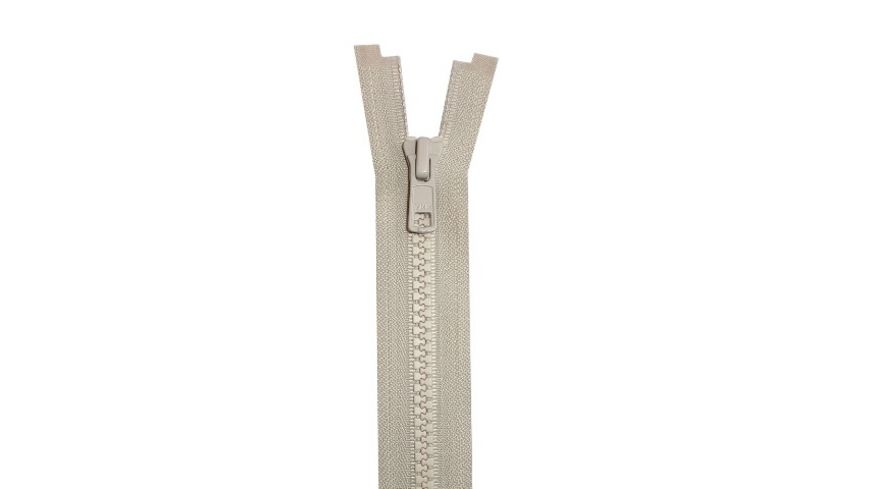 YKK Reissverschluss teilbar mit Kunststoffzahnkette 50 cm