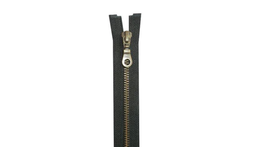 YKK Reissverschluss teilbar mit Metallkette 55 cm