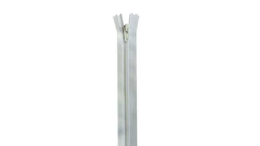YKK Reissverschluss unteilbar mit schmaler Kunststoffspirale 18 cm