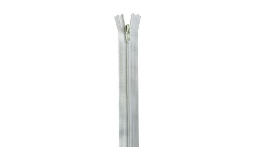 YKK Reissverschluss unteilbar mit schmaler Kunststoffspirale 60 cm