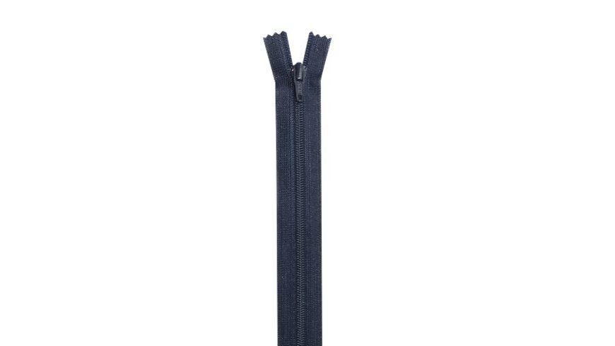 YKK Reißverschluss unteilbar mit schmaler Kunststoffspirale - 20 cm