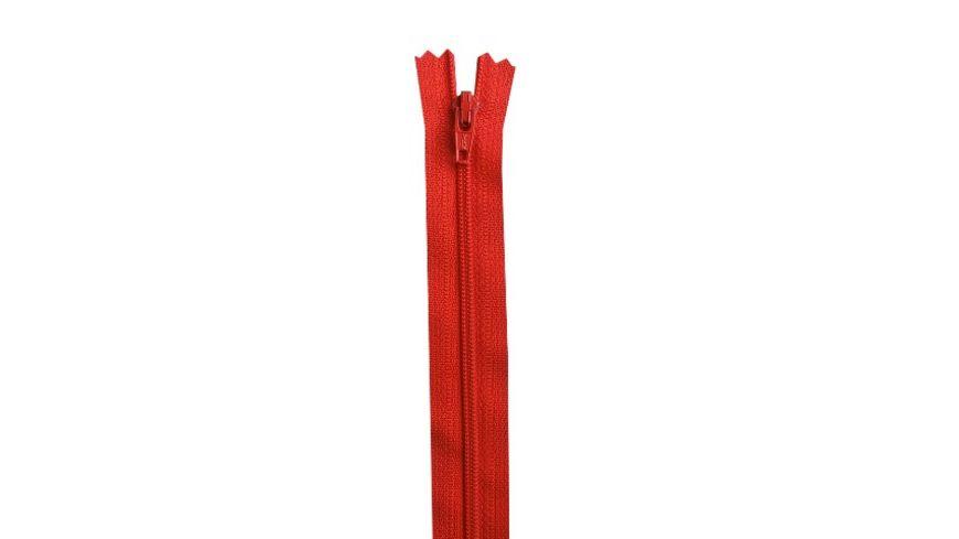 YKK Reißverschluss unteilbar mit schmaler Kunststoffspirale - 25 cm
