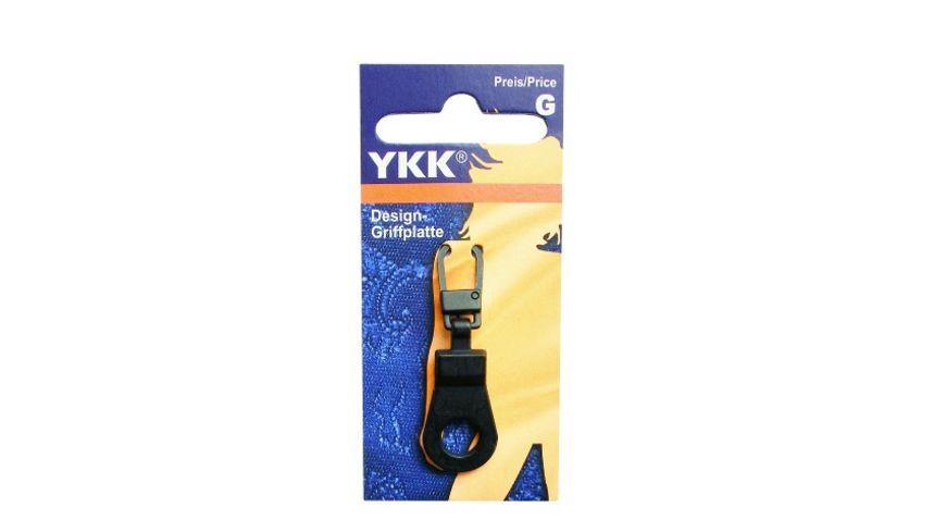 YKK Griffplatte Pendel gross antiksilber