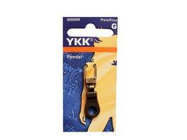 YKK Griffplatte Pendel altmessing