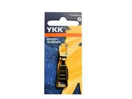 YKK Griffplatte Trapez brueniert