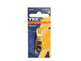 YKK Griffplatte Pendel silber
