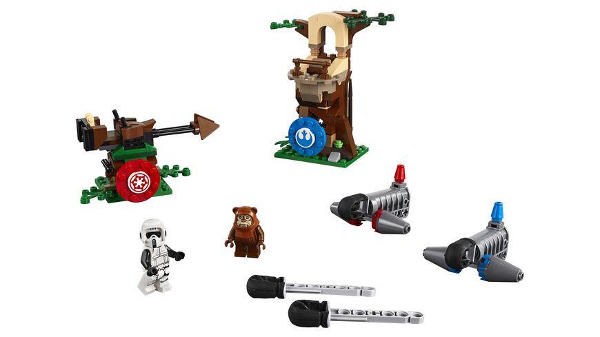 LEGO Star Wars 75238 Action Battle Endor Attacke