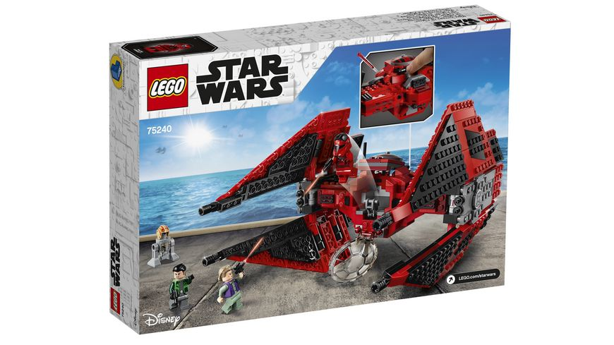 LEGO Star Wars 75240 Major Vonreg s TIE Fighter