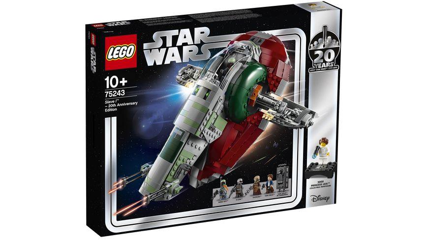 LEGO Star Wars 75243 Slave I 20 Jahre LEGO Star Wars