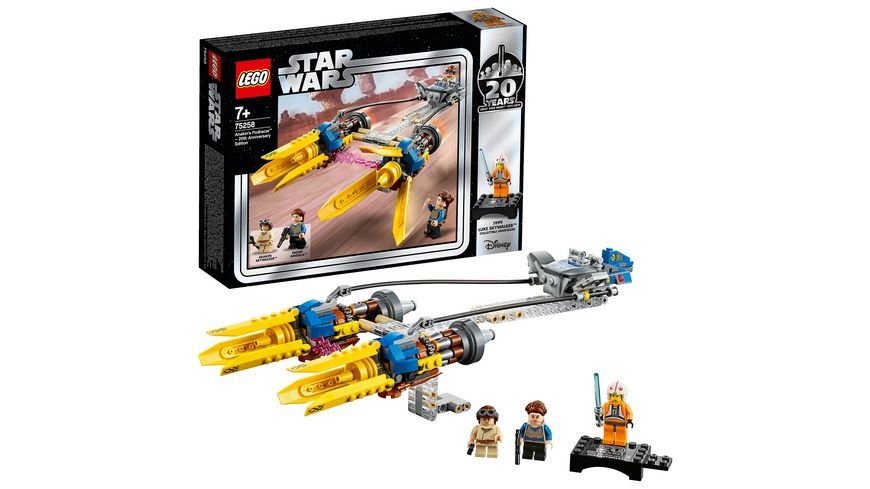 LEGO Star Wars 75258 Anakin s Podracer 20 Jahre LEGO Star Wars