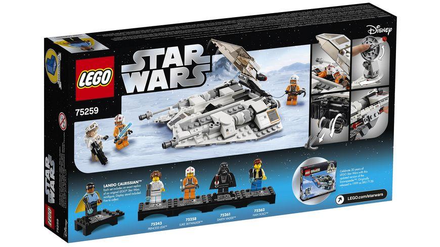 LEGO Star Wars 75259 Snowspeeder 20 Jahre LEGO Star Wars