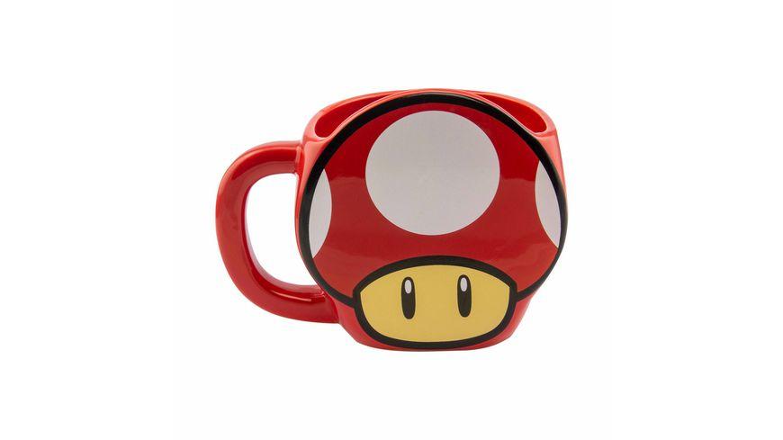 Super Mario Mushroom 3D Becher