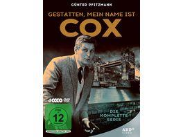 Gestatten mein Name ist Cox Die komplette Serie mit Guenter Pfitzmann 4 DVDs