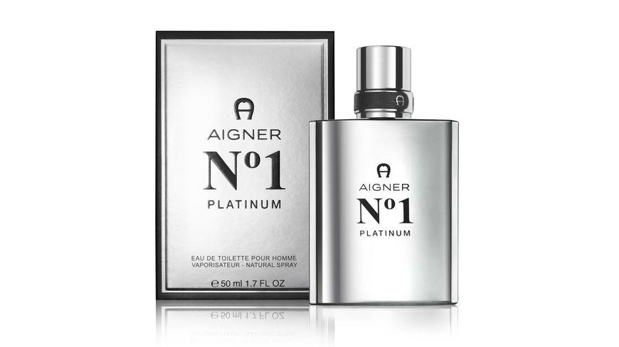 AIGNER No 1 Platinum