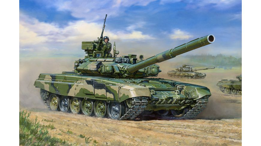 Zvezda 500783573 1 35 Mod Russischer Kampfpanzer T 90