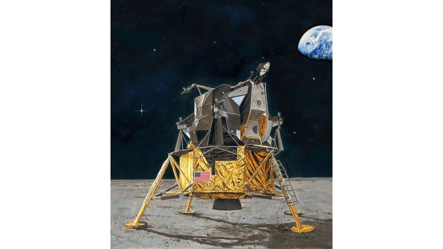Revell 03701 Apollo 11 Lunar Module Eagle