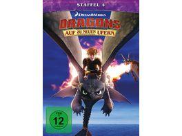 Dragons Auf zu neuen Ufern Staffel 4 4 DVDs