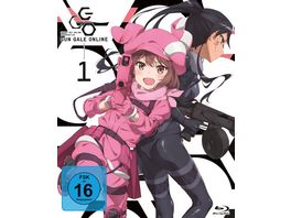 Sword Art Online Alternative Gun Gale Online Blu ray 1 Ep 1 5 5