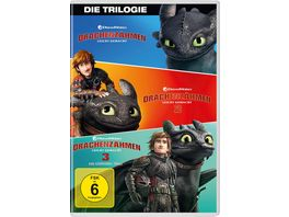 Drachenzaehmen leicht gemacht 1 3 Movie Collection 3 DVDs