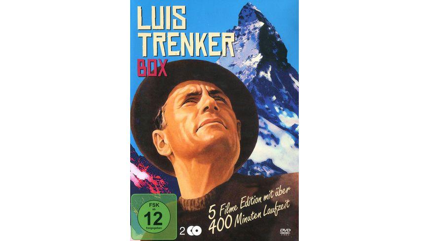 Luis Trenker Box 2 DVDs