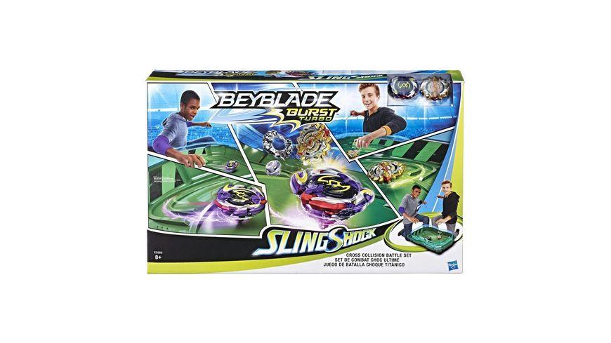 Hasbro Beyblade Burst Turbo Cross Collision Battle Set