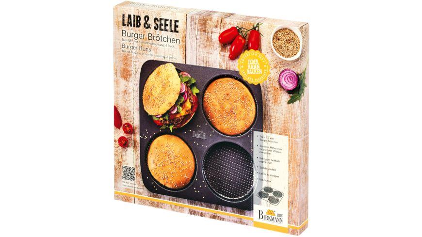 RBV BIRKMANN Burger Brötchen-Blech LAIB & SEELE