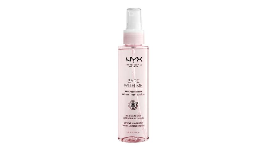 NYX PROFESSIONAL MAKEUP Multitasking Spray Bare With Me Prime Set Refresh Multitasking Spray