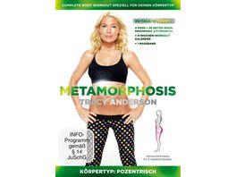 Tracy Anderson Metamorphosis Koerpertyp Pozentrisch 4 DVDs inkl Buch Massband