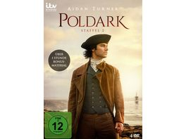 Poldark Staffel 2 4 DVDs