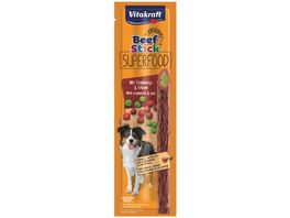 Vitakraft Beef Stick Superfood Erbse Cranberry