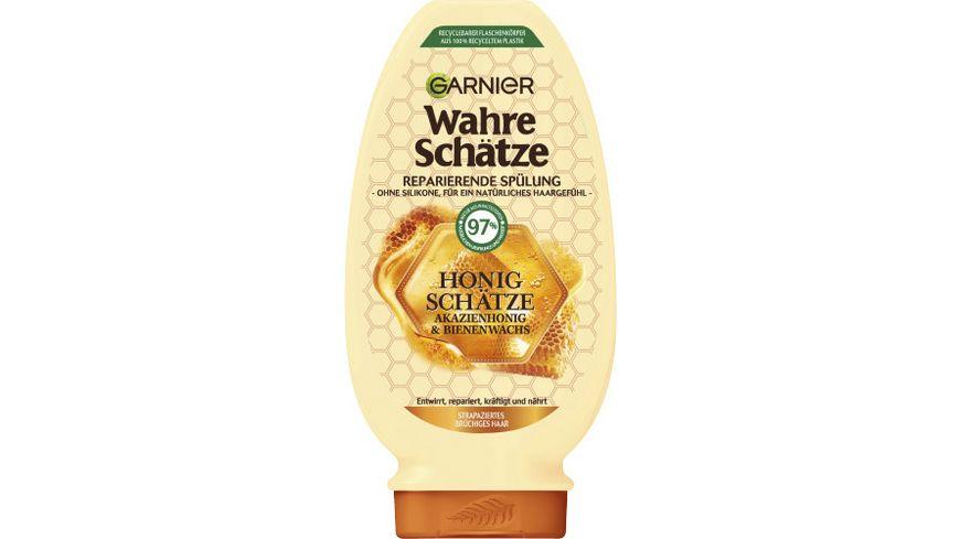 GARNIER Wahre Schaetze Reparierende Spuelung Honig Schaetze
