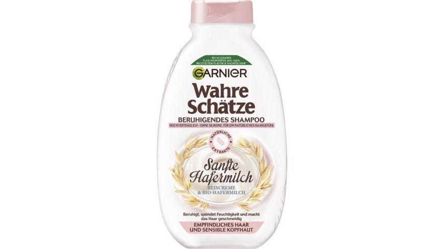 GARNIER Wahre Schaetze Beruhigendes Shampoo Sanfte Hafermilch