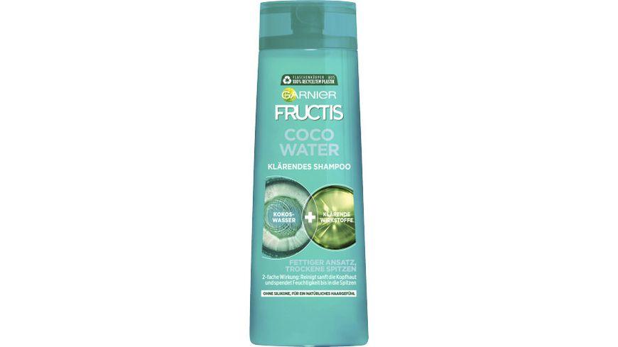 GARNIER FRUCTIS FATS Coco Water Kraeftigendes Shampoo