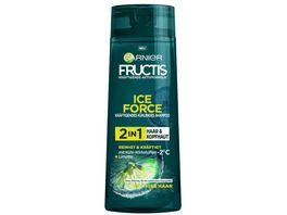 GARNIER FRUCTIS Shampoo Ice Force Limette 2in1 Haar Kopfhaut