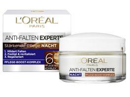 L OREAL PARIS ANTI FALTEN EXPERTE Nachtcreme 65