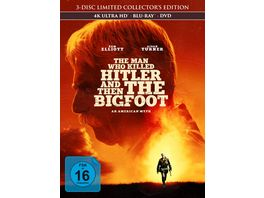 The Man Who Killed Hitler and Then The Bigfoot 3 Disc Limited Collector s Edition im Mediabook 4K Ultra HD Blu ray 2D DVD
