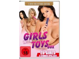 Girls with Toys Collectors Edition 3 DVDs