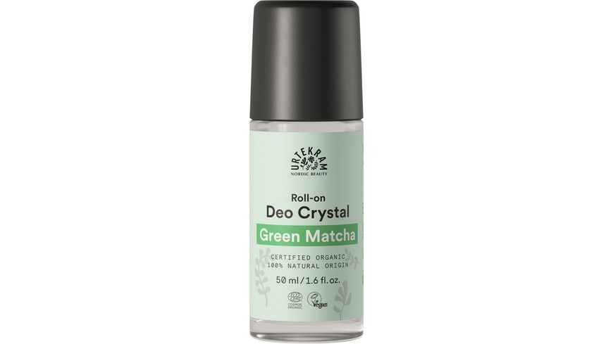 URTEKRAM Deo Crystal Roll on Green Matcha
