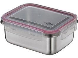 KUeCHENPROFI Lunchbox Vorratsdose Edelstahl mittel