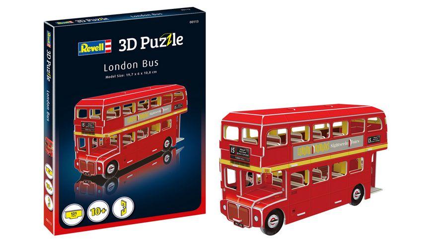 Revell 00113 3D Puzzle London Bus