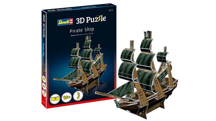 Revell 00115 3D Puzzle Piratenschiff