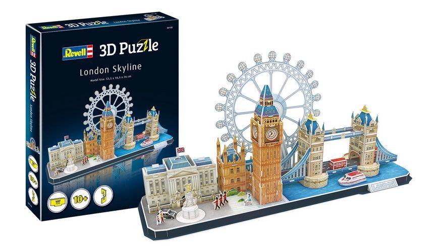 Revell 00140 3D Puzzle London Skyline