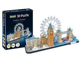 Revell 00140 3D Puzzle London Skyline