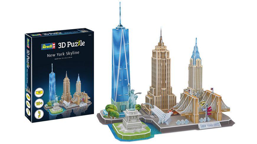 Revell 00142 3D Puzzle New York Skyline