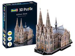 Revell 00203 3D Puzzle Koelner Dom