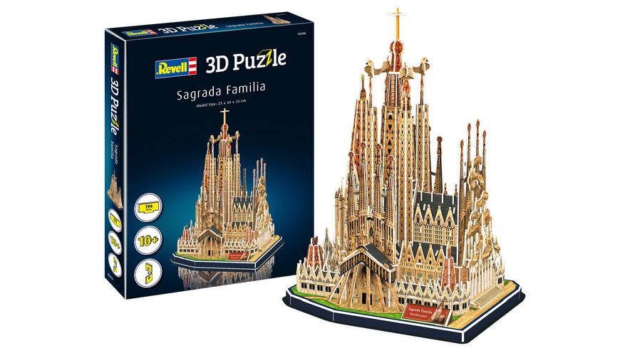 Revell 00206 3D Puzzle Sagrada Familia