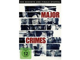 Major Crimes Die komplette 6 Staffel 3 DVDs