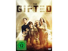 The Gifted 4 DVDs