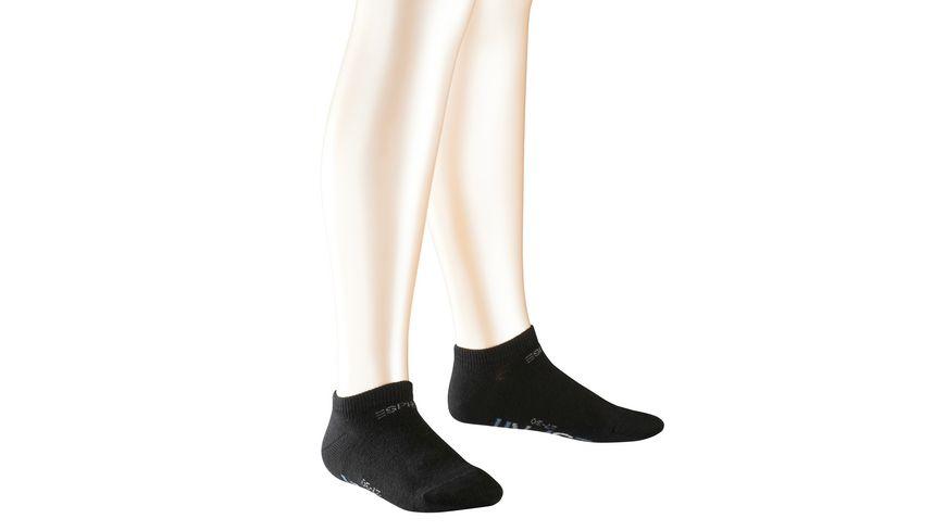 ESPRIT Kinder Sneaker Socken Foot Logo 2er Pack